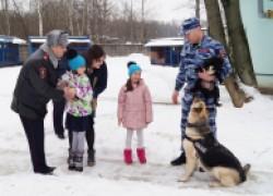 Полицейские осуществили мечту девочки