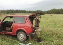 Первая охота с чучелами на утку