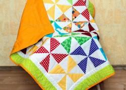 Шьем детское лоскутное одеяло