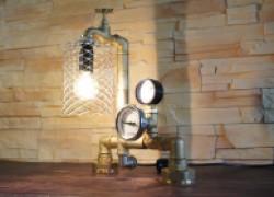 Лампа в стиле «лофт»