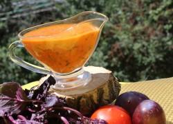 Соус томатно-сливовый для мяса