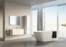 Новый взгляд на ванную комнату: отдельно стоящая ванна и душевая