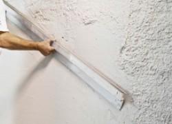 Ошибки при штукатурке стен