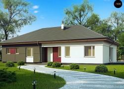 Комфортный одноэтажный дом в традиционном стиле