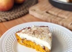 Тыквенный пирог с изюмом и орешками