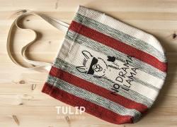 Сумка-шоппер из домотканного коврика без выкройки