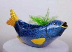 Домашний декор: ваза в форме рыбы