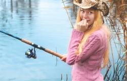 Рыбачка-неумеха