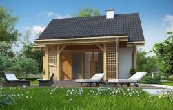 Дом-малютка для дачи