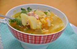 Рецепт вкуснейшего горохового супа с копченостями