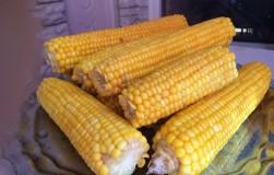 К новогоднем столу я подаю коронное блюдо — вареную молодую кукурузу