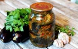 Шесть рецептов блюд из баклажанов