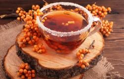 Пейте облепиховый чай и будьте здоровы
