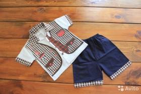 Рубашки и шорты, р-р 92