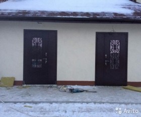 Дверь металлическая для дома и дачи