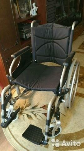 Новая инвалидная кресло - коляска
