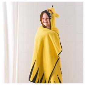 ДЬЮНГЕЛЬСКОГ Полотенце с капюшоном, тигр, желтый  |обезьянка, коричневый