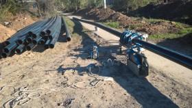 Строительство наружных трубопроводов  сварка пнд труб стыковая и электромуфтовая