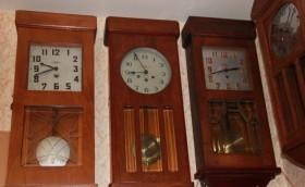 *Ремонт механических настенных, каминных часов