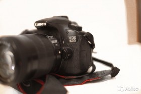 Продаю фотоаппарат Canon 60d + 18-135mm f/3.5-5.6