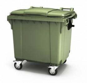 Мусорный пластиковый контейнер 1100 литров,