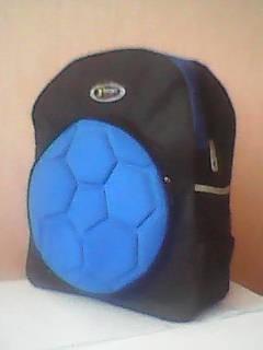 Рюкзак для мальчика  (новый) с рис.Футбольный мяч