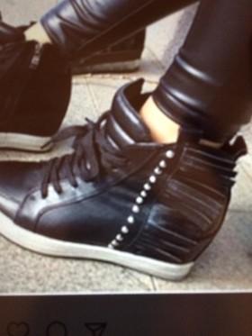 Ботиночки на горке
