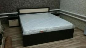 Двухспальная кровать с матрасом 1600/2000