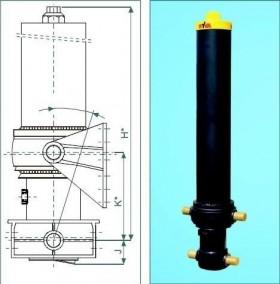 Телескопические подъёмные цилиндры