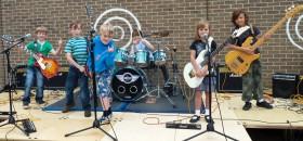 Новый проект — «Рок-группа»!