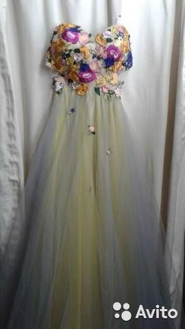Платье вечернее40-42
