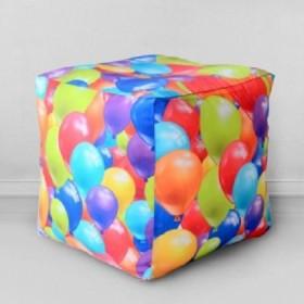 """Пуфик-кубик """"Воздушные шары"""""""