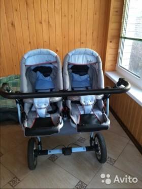 Продается коляска для двойни