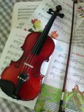 Уроки игры на скрипке.