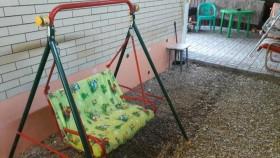 Садовые детские качели