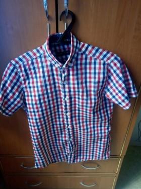 Продаю рубашку в клетку