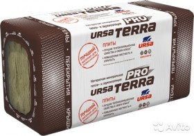 Минераловатный утеплитель ursa terra 34 PN PRO