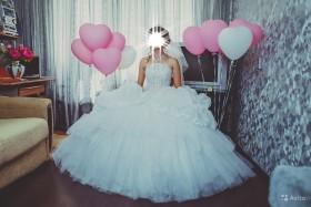 Продам свадебное платье после химчистки