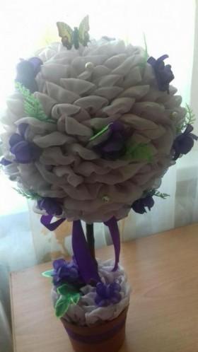 Цветок ( украшения интерьера )