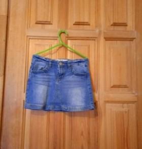 Юбка джинсовая sela размер 128