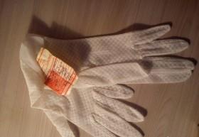 Ретро советские перчатки к платью