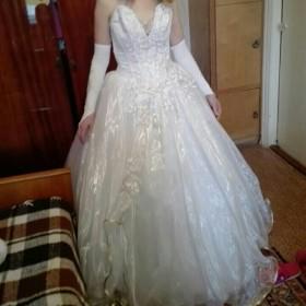 Свадебное платье/рассмотрю обмен