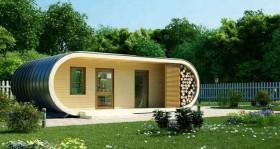 Стильные и практичные мини дома