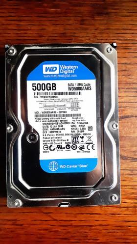 Жесткий диск Western Digital Blue 500GB