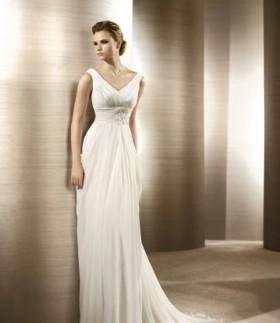 Свадебное платье коллекции Pronovias (Испания)