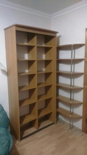 Шкаф с угловой полкой