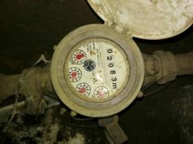 Установка водомера (счётчика воды)