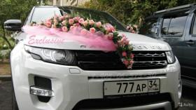 Любые украшения на свадебные автомобили все цвета