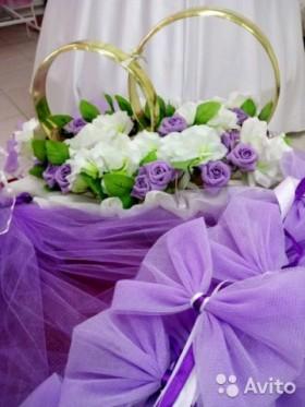 Свадебные украшения на авто (N.0012)