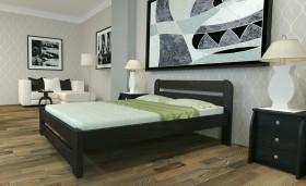 Кровать двуспальная из дерева 140х200. Массив сосны новая 3300 lei бесплатная доставка.
